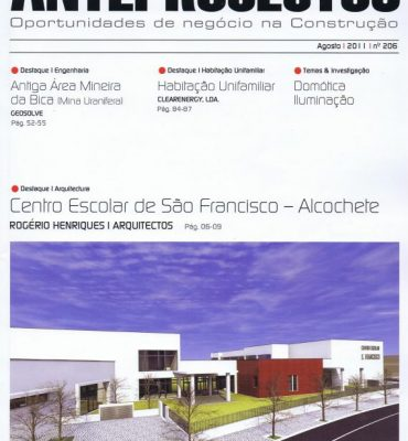 Revista ANTEPROJECTOS – Abril 2011