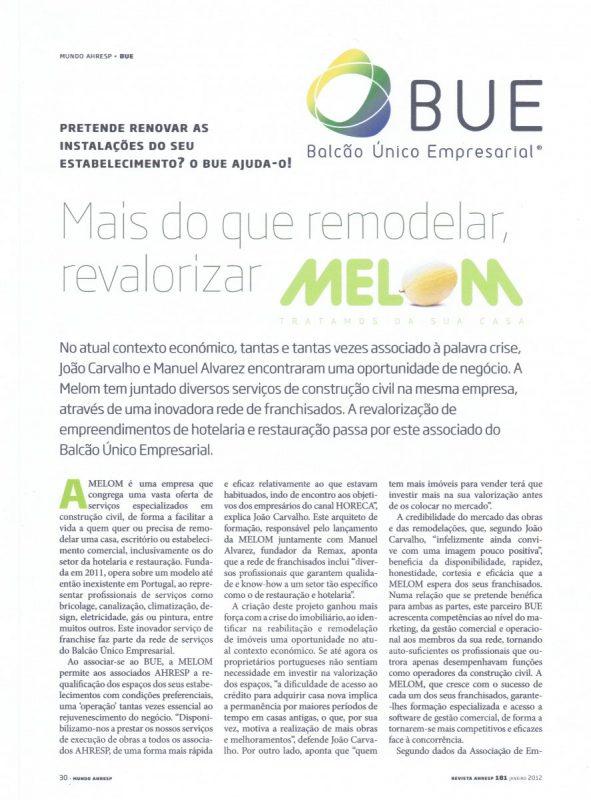 Revista Mundo AHRESP – BUE_Melom_Dezembro 2011 (1)