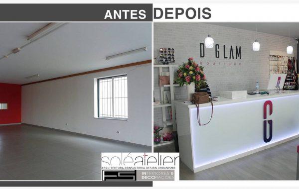 Remodelação-Boutique GLAM-Cerveira